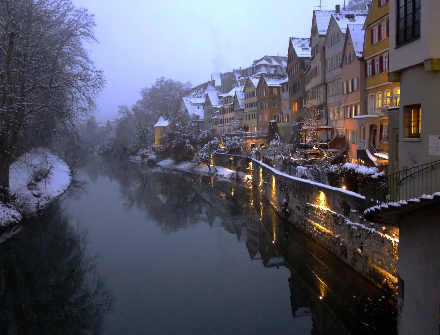 Vorweihnächtliches Tübingen