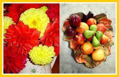 VOUS AVEZ DIT FRUITS ?? J ' Y AJOUTE DES FLEURS !!!!
