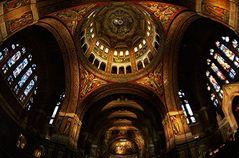 Voute de la basilique de Lisieux