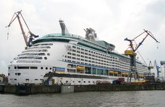Voyager of the Seas im Trockendock
