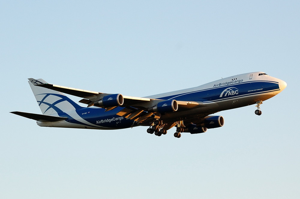 VP-BIM / Air Bridge Cargo / Boeing 747-4HAERF
