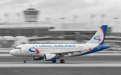 VP-BTE - Ural Airlines - Airbus A319