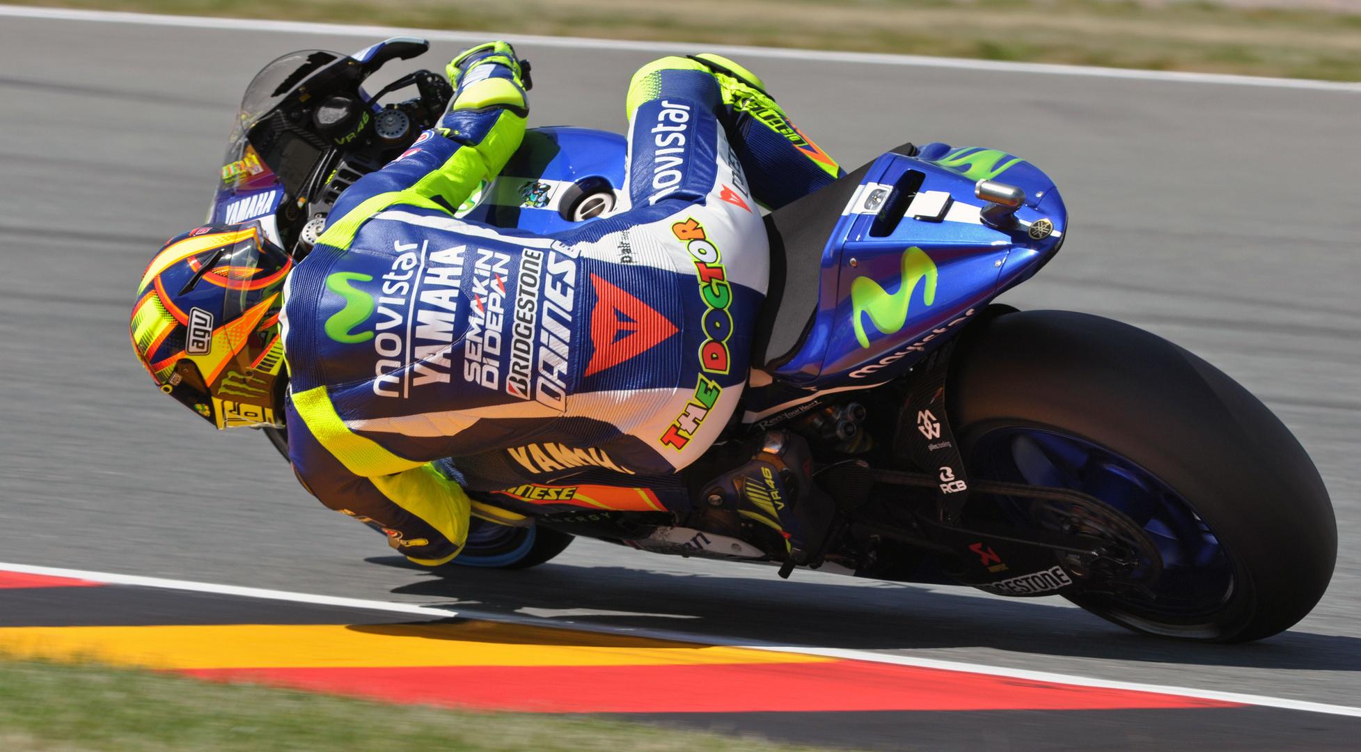 VR46 @ MotoGP Sachsenring 2015