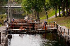 Vrangfoss-Schleuse im Telemarkkanal I