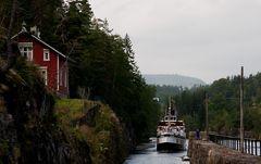 Vrangfoss-Schleuse im Telemarkkanal II