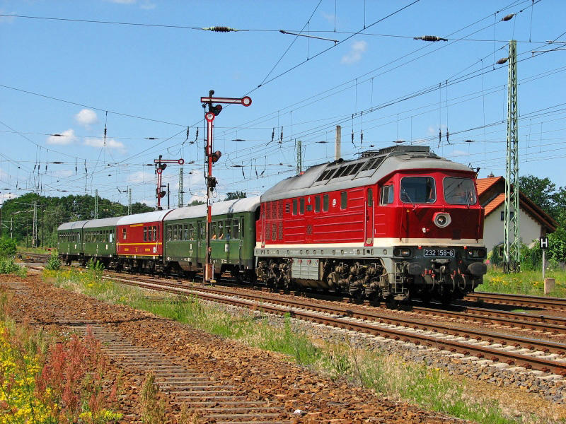 VSE-Gurkenexpress nach Lübbenau