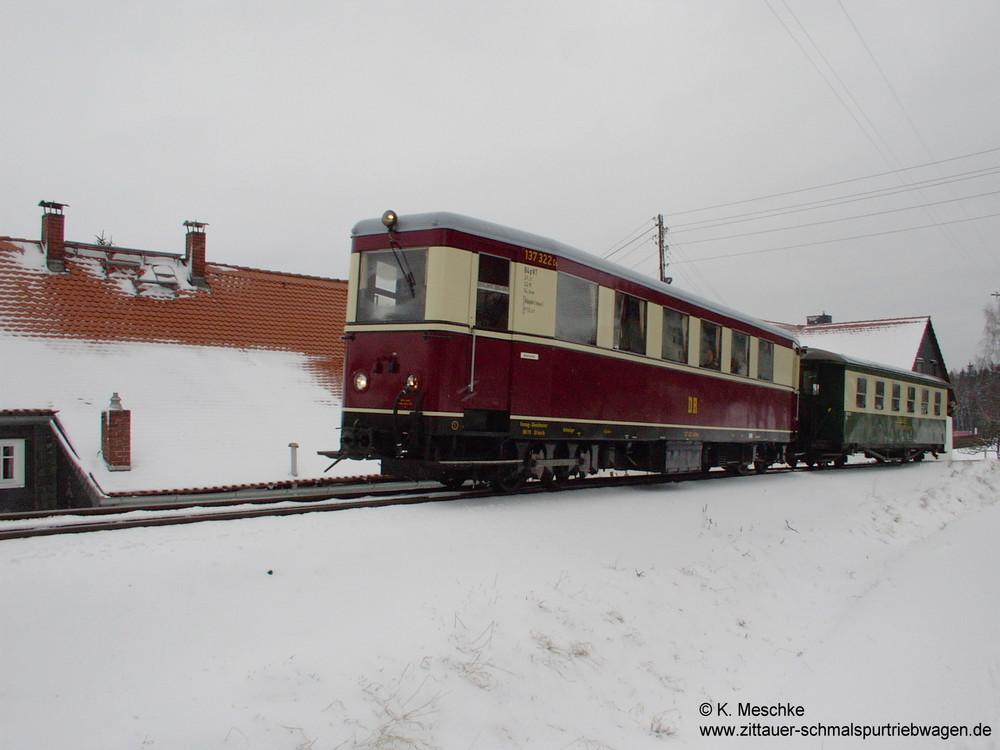 VT 137 322 im Winter