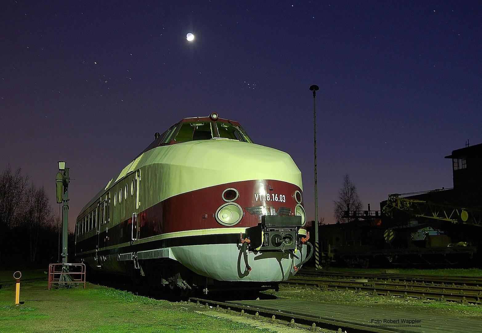 VT 18 der Baureihe 175 in Chemnitz