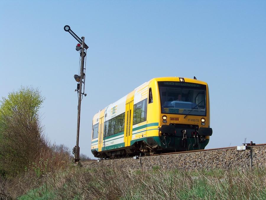 VT 650.72 auf der OE25 zwischen Werneuchen und Berlin