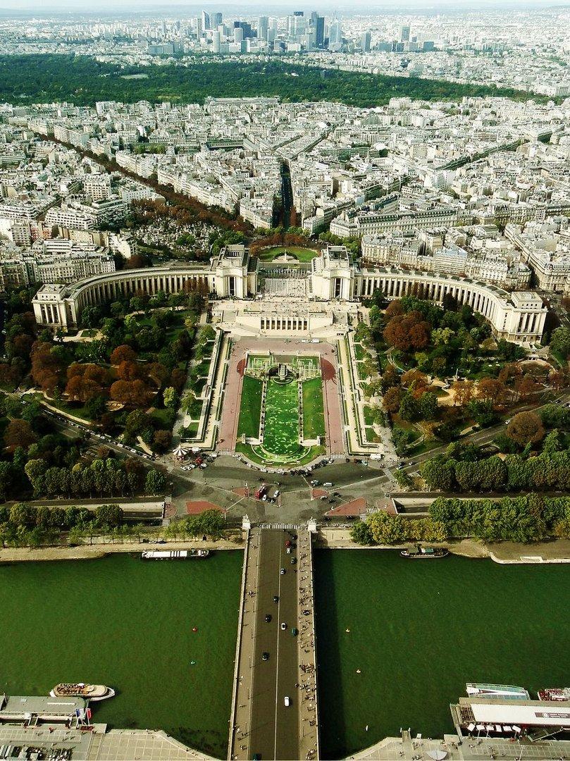 vu de la tour Eiffel 2