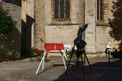 vue à Villeneuve d' Aveyron