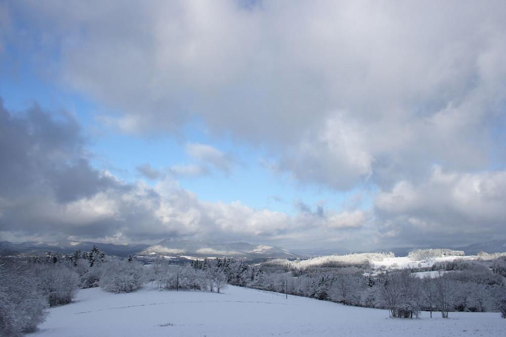 vue d'hiver