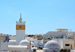 Vue sur la médina de Hamamet.