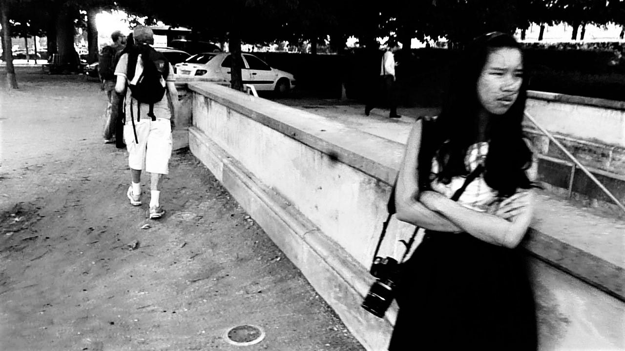 Vue sur la photographe à Paris