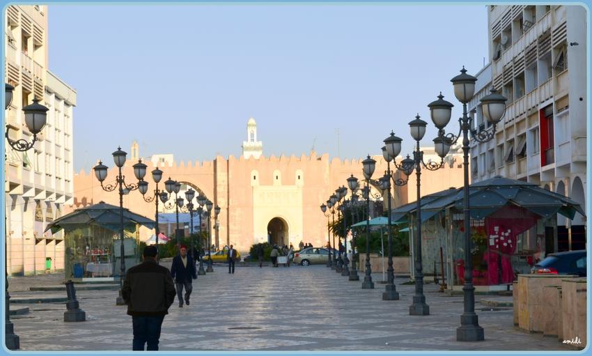 vue sur le centre ville de Sfax (2)