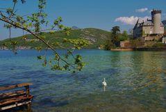 vue sur le lac d annecy