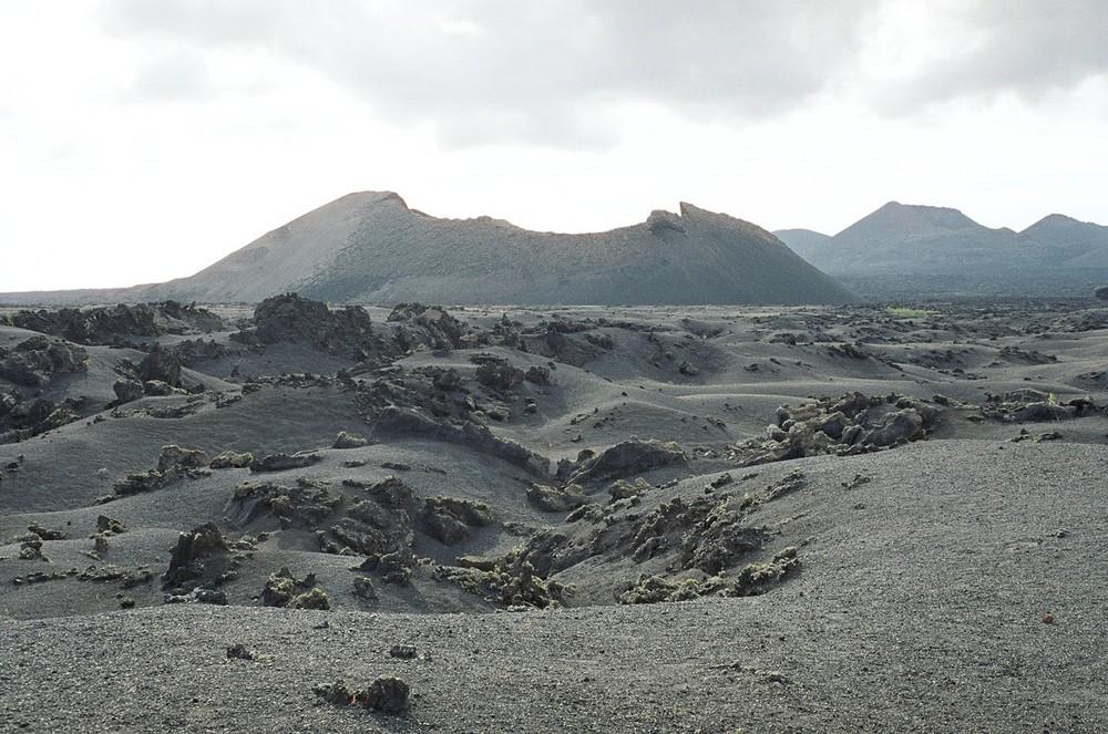 Vulcanic landscape of Lanzarote