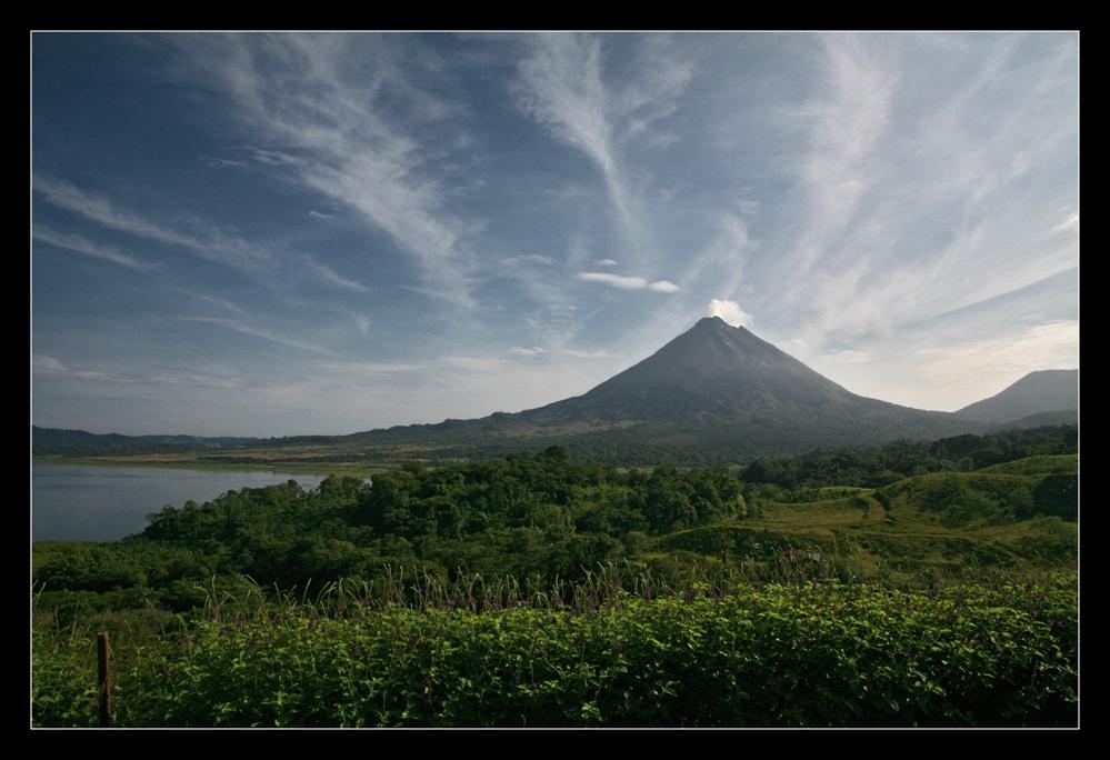 Vulkan Arenal ohne ...