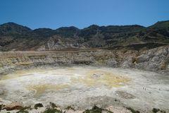 Vulkan auf Nisyros (Griechenland)