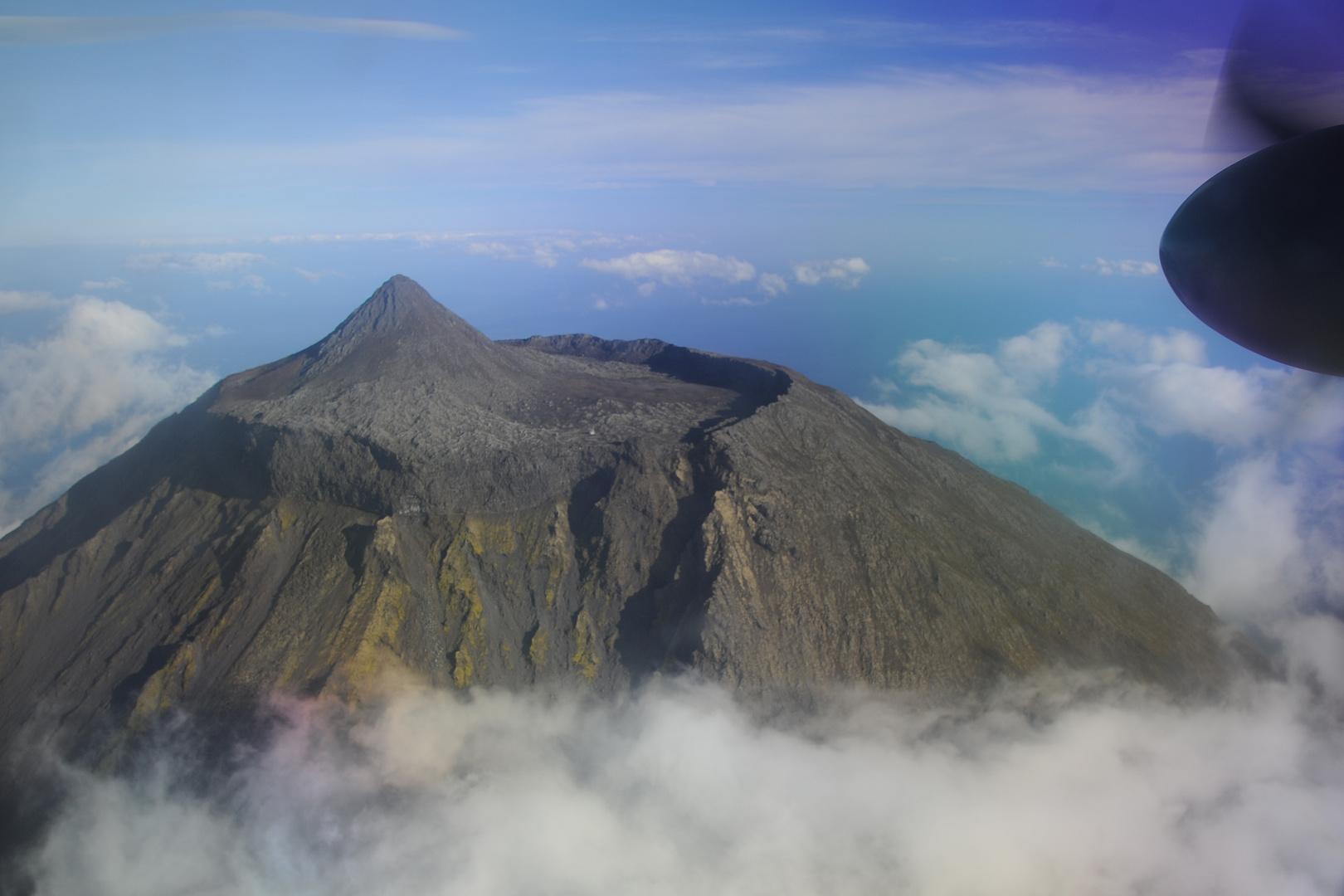 Vulkan Pico auf der Azoreninsel Pico (Portugal)