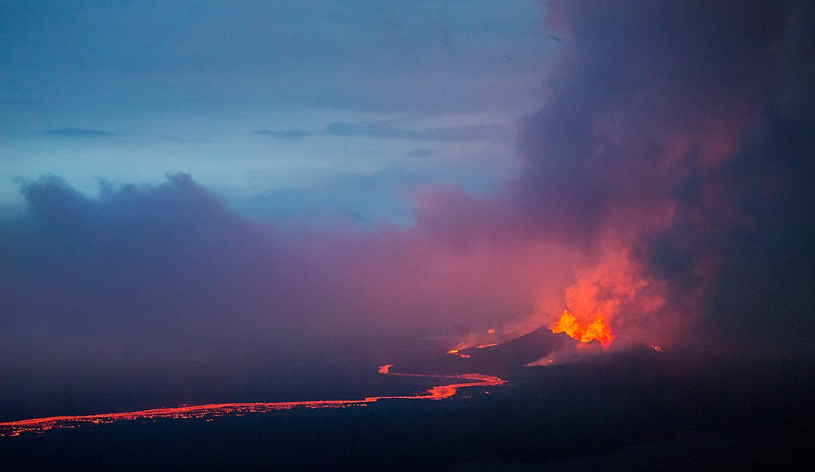 Vulkanausbruch am Bardarbunga / Holuhraun Spalteneruption