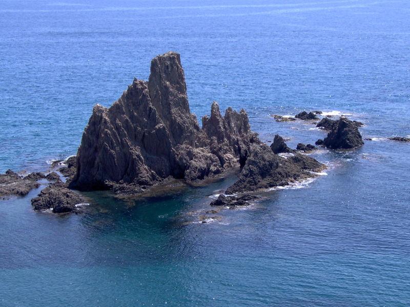 Vulkanfelsen bei Almeria - Spanien