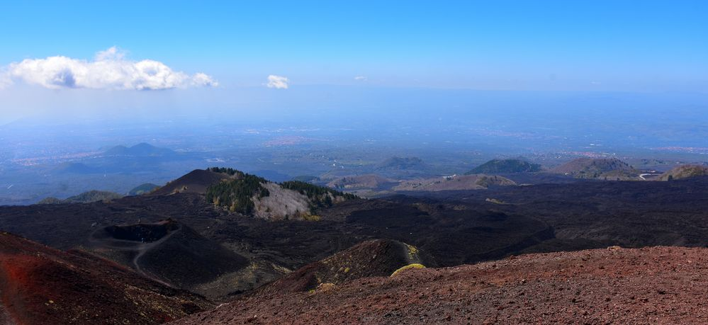 Vulkanische Aussichten