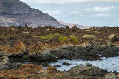 Vulkanische Küste