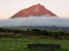 Vulkankegel Pico auf den Azoren