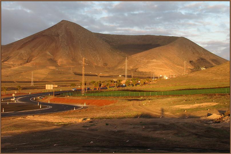 Vulkankette 'Los Ajaches'