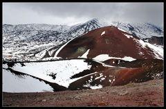 Vulkanlandschaft am Ätna