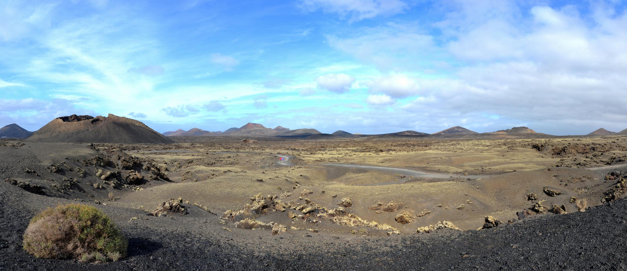Vulkanlandschaft auf Lanzarote