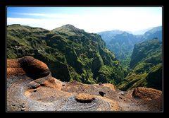 Vulkanlandschaft auf Madeira