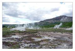 Vulkanlandschaft - Island