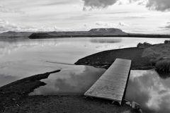 Vulkanstrand am Myvatn-See
