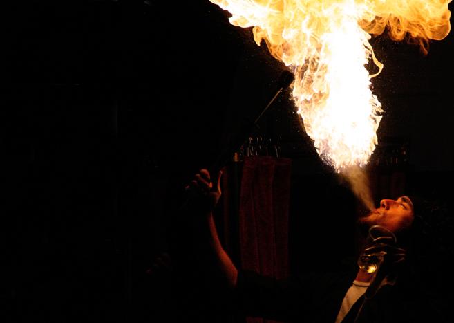vuur spuwer