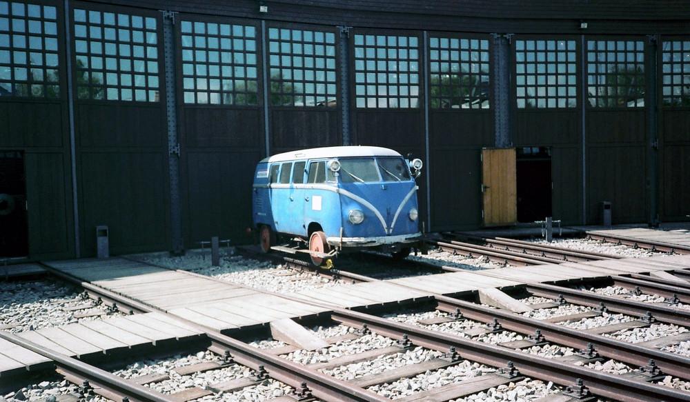 VW Bulli im Technikmuseum Berlin 1990