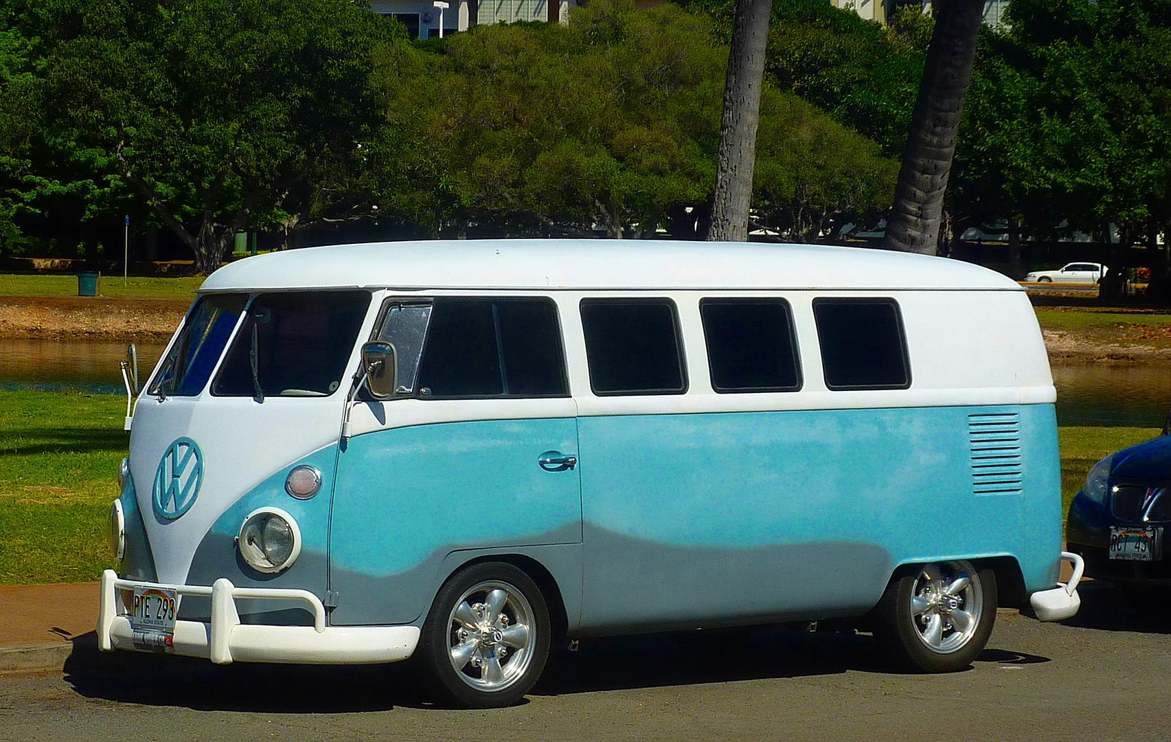 vw bulli t1 in honolulu hawaii foto bild autos zweir der oldtimer youngtimer vw bilder. Black Bedroom Furniture Sets. Home Design Ideas
