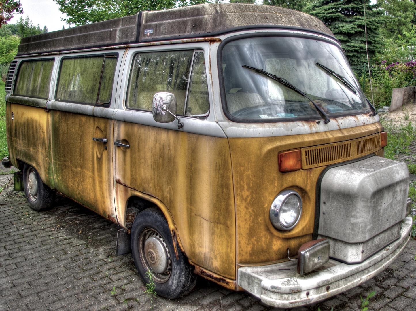 VW-Bulli T2 Westfalia....