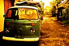 VW Bus - Let´s go surfing
