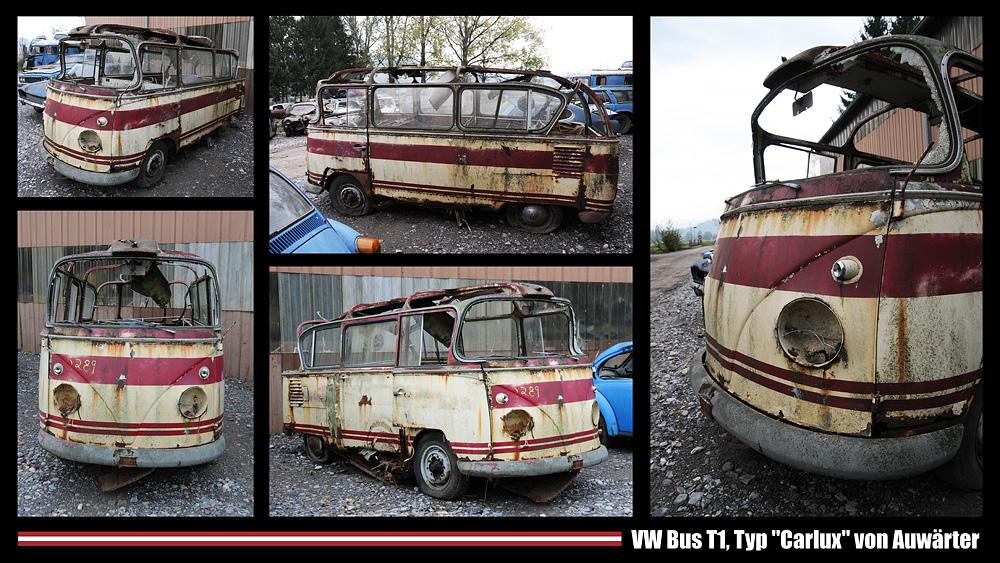 """VW Bus T1, Typ """"Carlux"""" von Auwärter - RELOAD"""