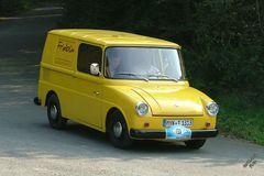 VW Fridolin kommt in Postgelb