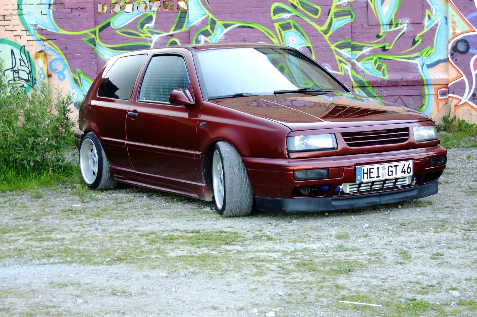 VW Golf 3 ....