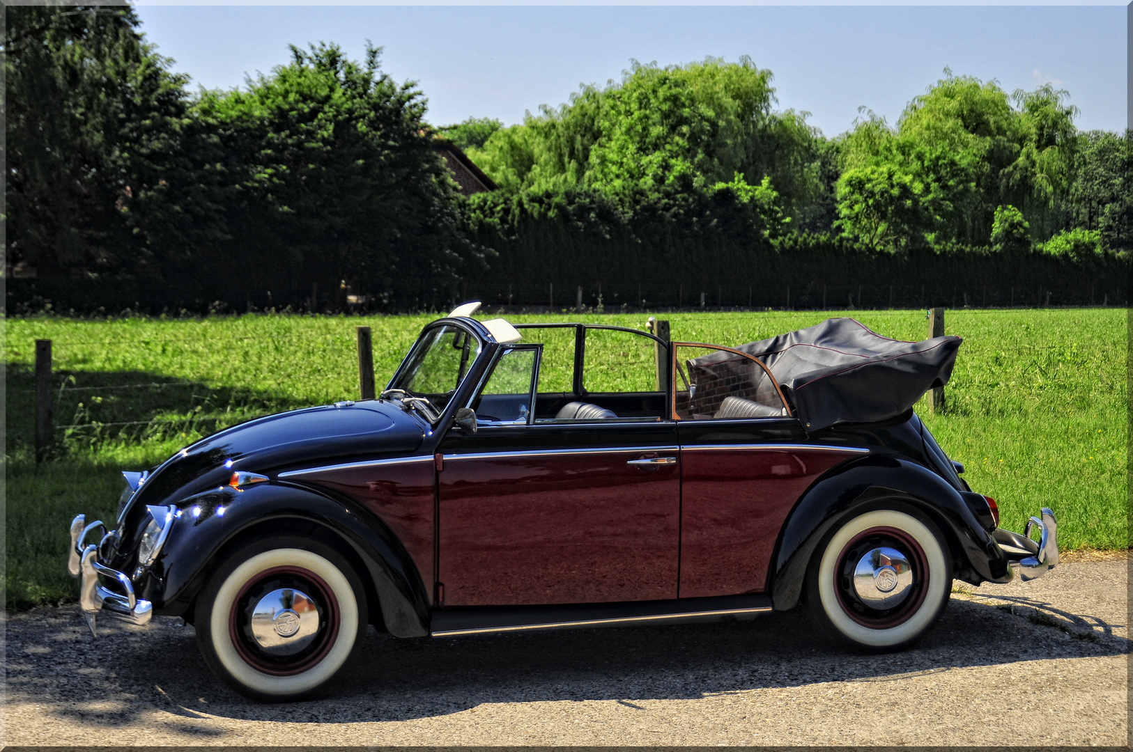 vw k fer cabrio foto bild oldtimer youngtimer autos. Black Bedroom Furniture Sets. Home Design Ideas