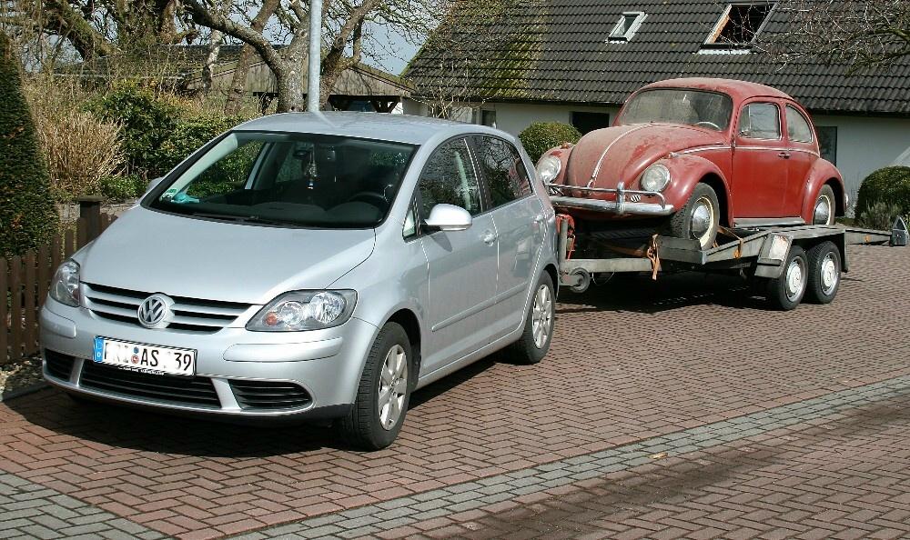 VW Käfer - VW Golf, uns trennen 42 Jahre