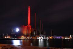 VW Kraftwerk und LOGO