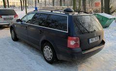 VW Passat Diensthunde..