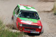 VW Polo 86c bei der Osterburg Rallye