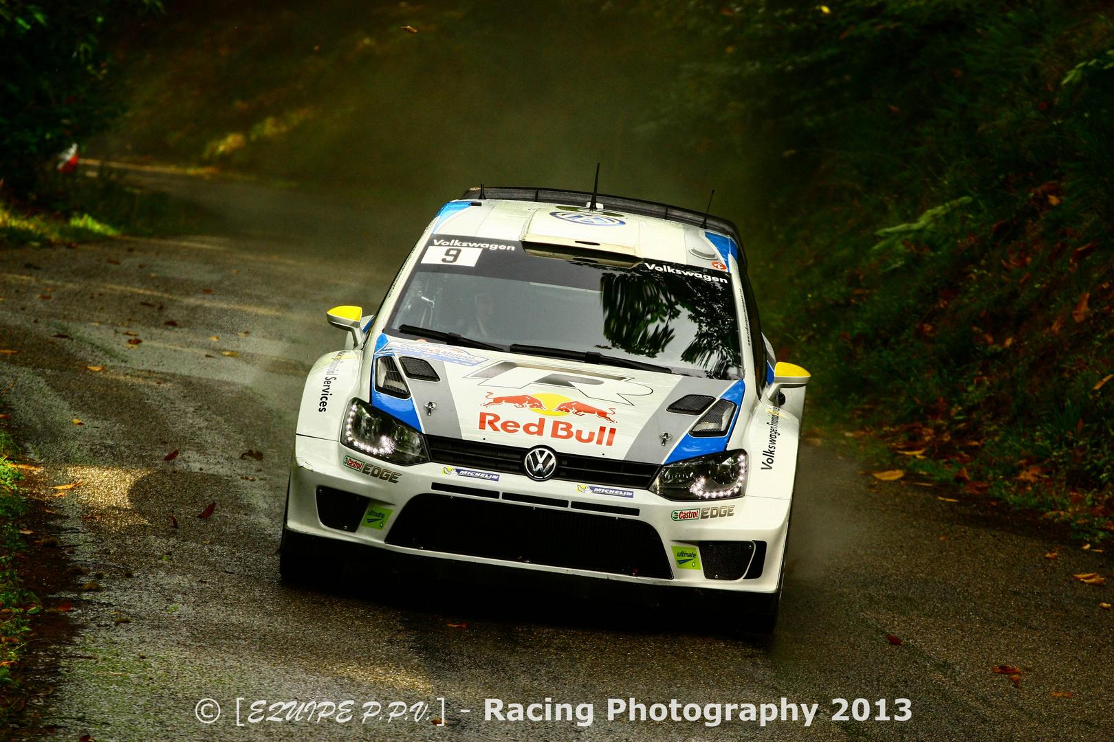 VW Polo R WRC @ WRC France 2013