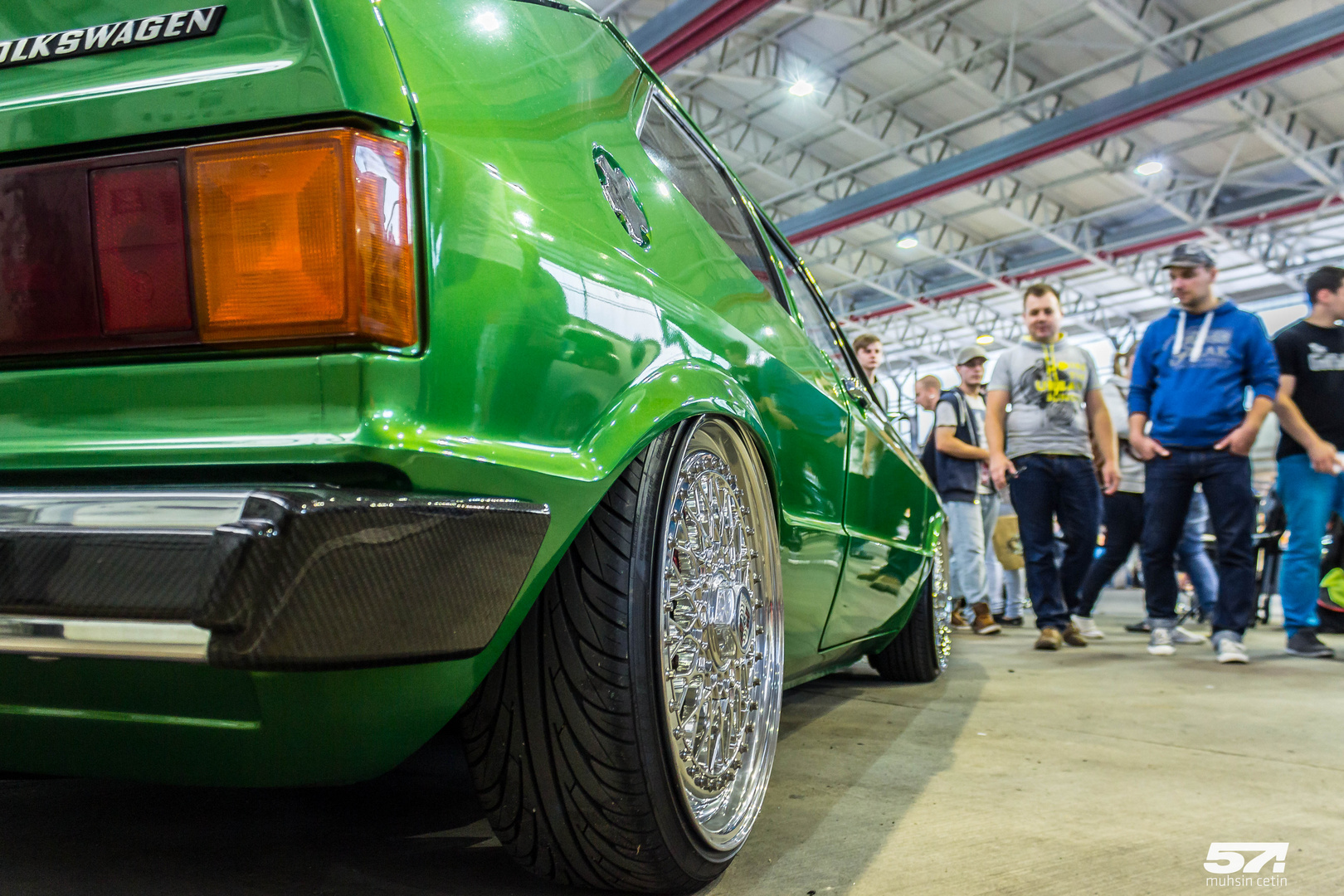 VW Scirocco auf BBS RS